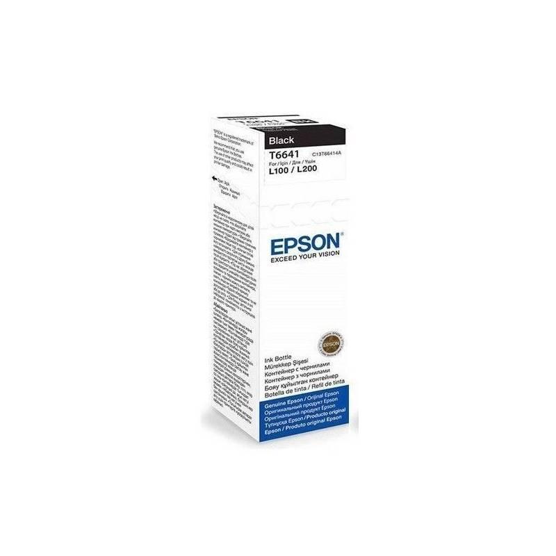 Tinta Epson T664120 Original Negro L200 L210 L350 L355 L555
