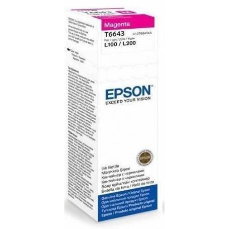 Tinta Epson T664320 Original magenta L200 L210 L350 L355 L555