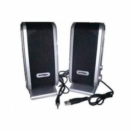Parlante Sentey MSP 303 USB + mouse retro