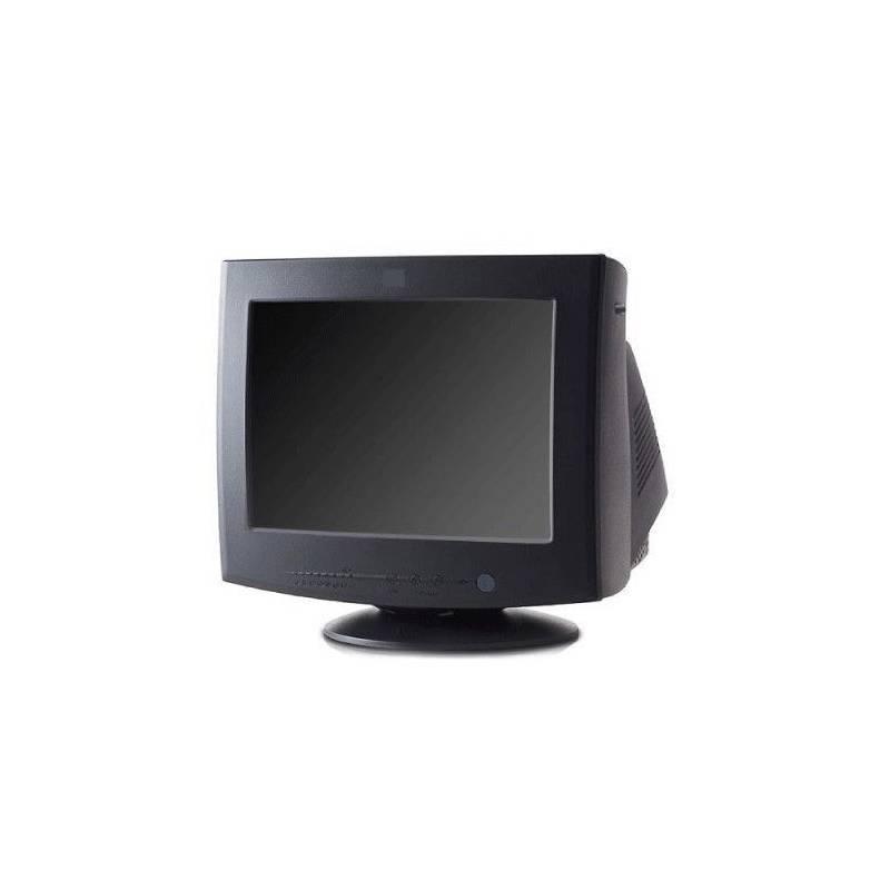 """Monitor de tubo IBM 15"""" pulgadas Negro"""