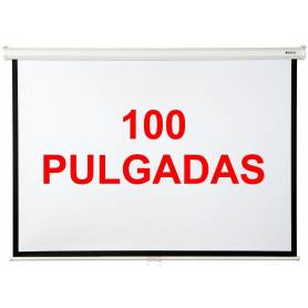 """Pantalla LOCH para proyector 100"""" Pulgadas sin pie"""