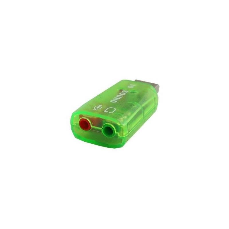 Placa de Sonido USB VIRTUAL  5.1