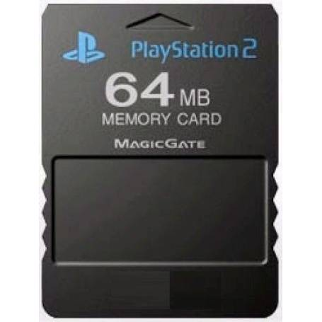 Memory Card 64MB para Playstation 2