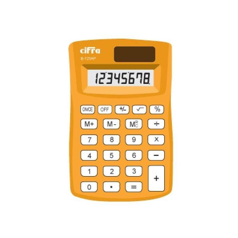 Calculadora B-123AP 8 Digitos