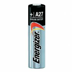Pila alcalina Energizer A27 / 12Vcc por unidad