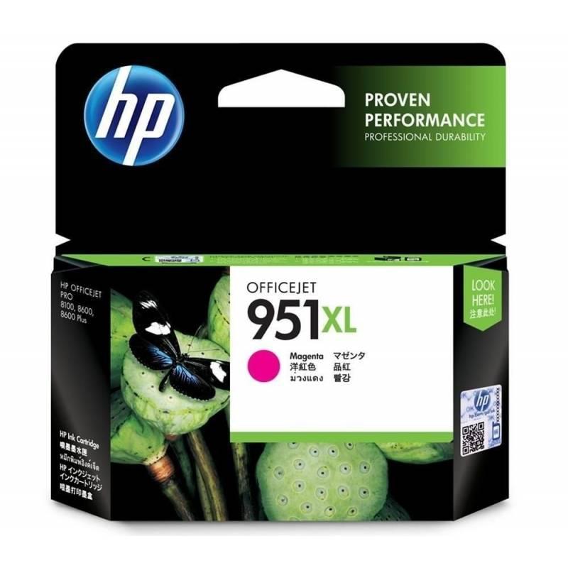 Cartucho  HP 951 xl original de tinta cian
