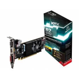 Placa de Video XFX AMD Radeon R7 240 2GB GDDR3
