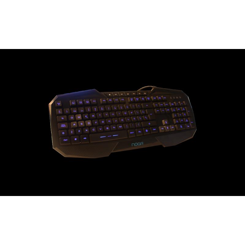 NKB-380A Teclado Gamer Retroiluminado Stormer Noga