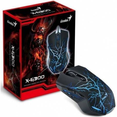 Mouse Gamer Genius X-G300 2000DPI