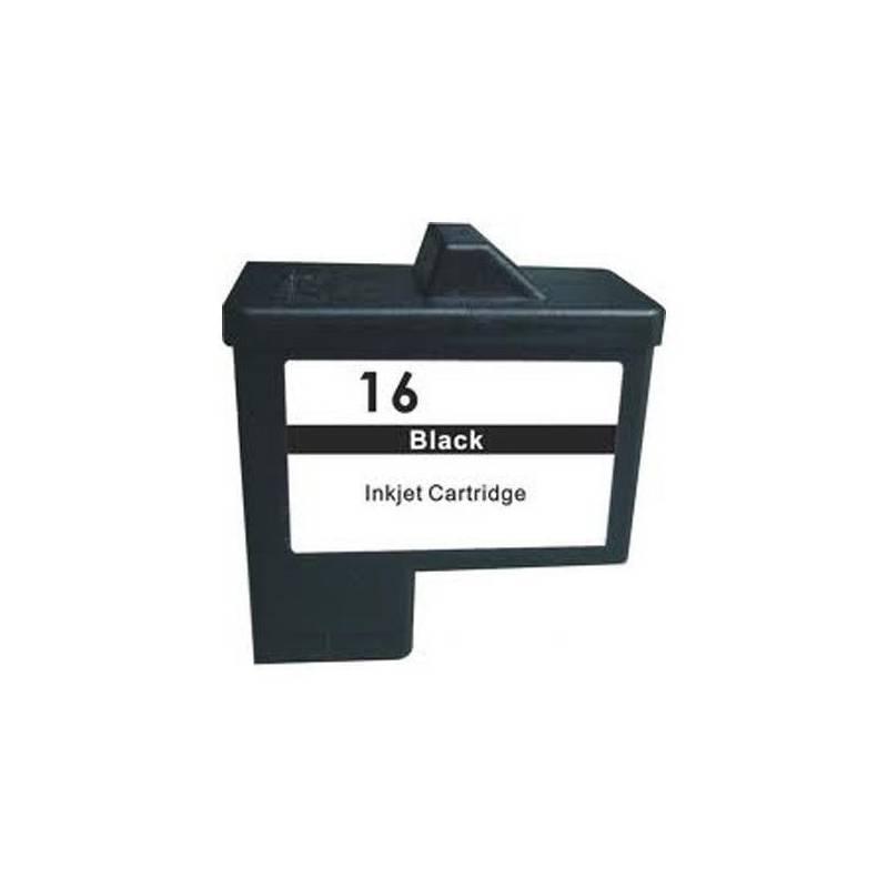 Cartucho Lexmark 16 original de tinta negra