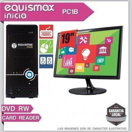 Pc Equismax Inicia AMD Sempron 2650 / 4GB / HD 500GB + Monitor