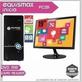 Pc Equismax Inicia Intel Celeron G1820 / 4GB / HD 1TB + MONITOR