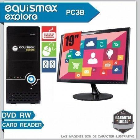 Pc Equismax Explora AMD Apu / 4GB / HD 500GB + MONITOR