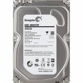 Seagate HDD Desktop 3000GB SATA ST3000DM001