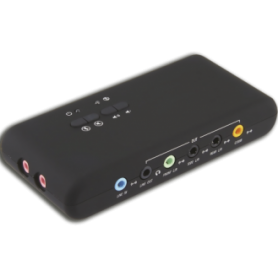 Placa de sonido USB 7.1 Kanji KJPVSNBOX