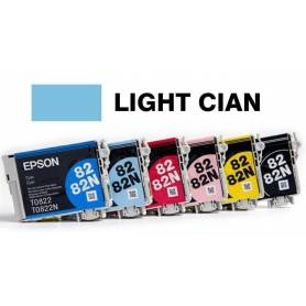 Cartucho Light Cian Epson 82 original T082