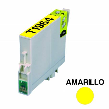 Cartucho para Epson 196 amarillo alternativo