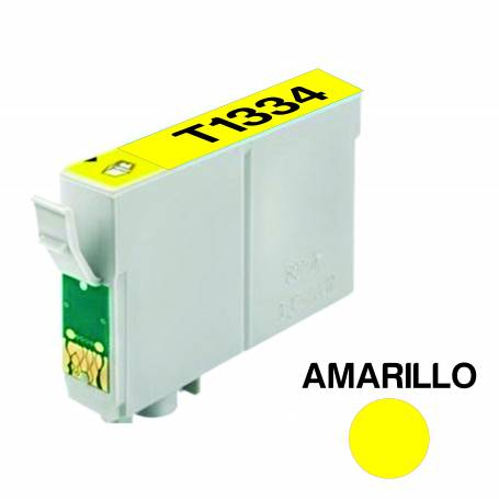 Cartucho para Epson 133 amarillo  alternativo