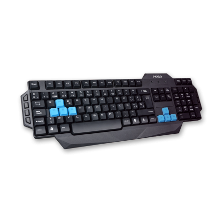 NKB-221 Teclado Gamer Noga RPGS, Hot Keys