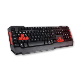 NKB-228 Teclado Gamer Noga RPGS, Hot Keys