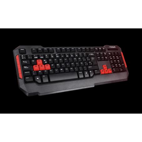 NKB-228 Teclado Gamer Noga RPGS, Hot Keys