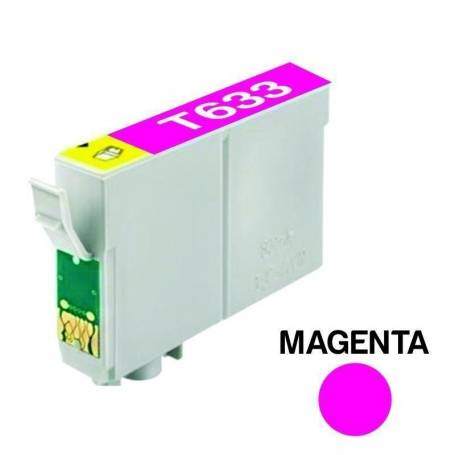 Cartucho para Epson T633 magenta alternativo
