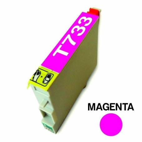 Cartucho para Epson 733 magenta alternativo