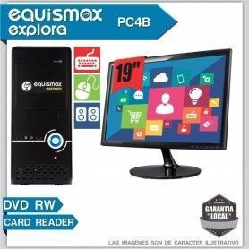 Pc Equismax Explora Intel Pentium G3250 / 4GB / HD 1 TB + MONITOR