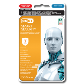 ESET Smart Security 3 PC 1 Año 2015