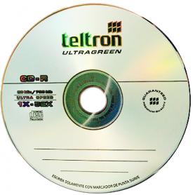 CD Virgen Teltron 52X 700MB