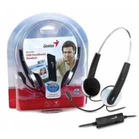 Auriculares de vincha con mic. USB HS-210U