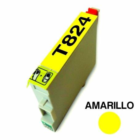 Cartucho para Epson 824 amarillo alternativo