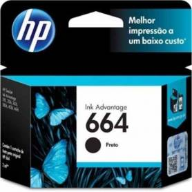 Cartucho HP 644 original de tinta negra