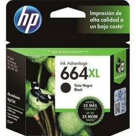 Cartucho  HP 644  XL original de tinta negra