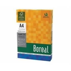 Resma Boreal A4 de color amarillo 75 grs x 500 hojas