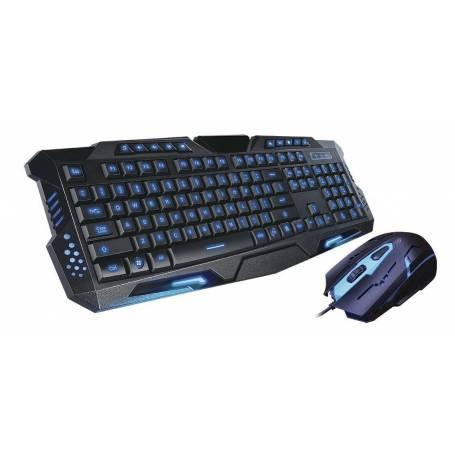 NKB-909 Teclado y Mouse Gamer Retroiluminado