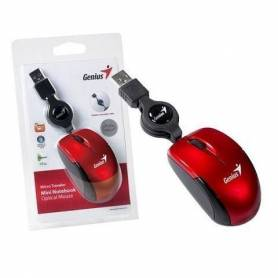 Mouse Rectractil Genius Micro Traveler Rubi