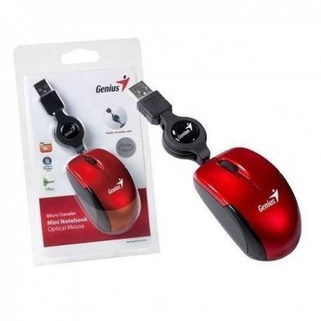 Mouse Optico Rectractil Genius Micro Traveler