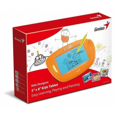 Genius Kids designer tableta digitalizadora para chicos