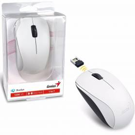 Mouse Genius NX-7000 White inalambrico 2.4Ghz