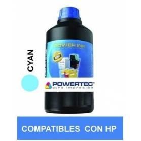 Tinta alt HP CYAN x 250ML DYE