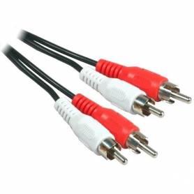 Cable de audio RCA a 2 RCA 2 mts