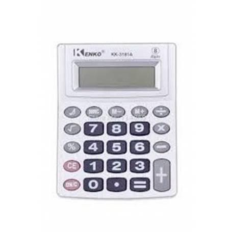 Calculadora KENKO KK-3181A 8 Digitos teclas grandes
