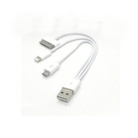 Adaptador  USB a micro / IPHONE 4 / 5