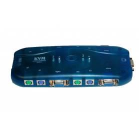 KVM 4 x 1 USB TEC / MOUSE / VGA
