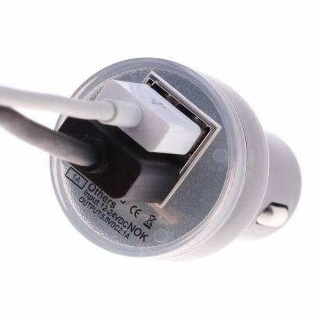 Adaptador de 12V a 2 USB de 2A
