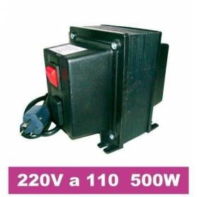 Transformador de 220V a 110V de 500W