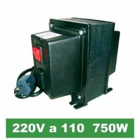 Transformador de 220V a 110V de 750W