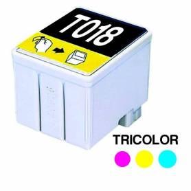 Cartucho para EPSON T018 Triclor