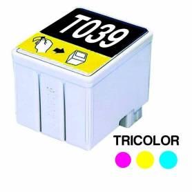 Cartucho para EPSON T039 Triclor